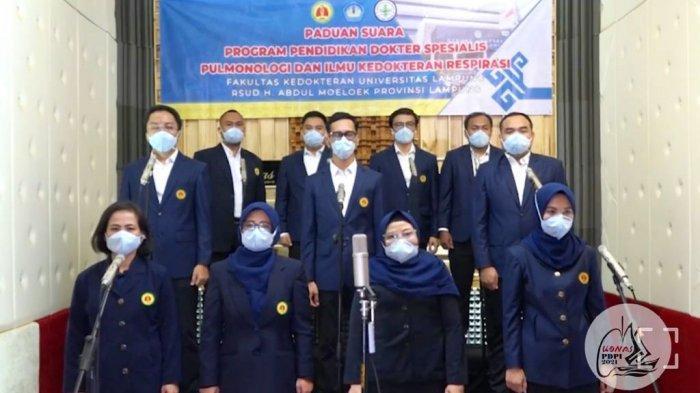PPDS Pulmonologi Unila Juara 3 Paduan Suara KONAS PDPI Makassar