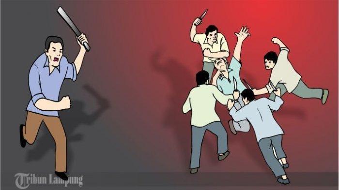 Pulang Nonton Futsal, Pelajar Kelas X Tewas Diduga Kena Sabetan Sajam, Polisi Amankan 9 Orang
