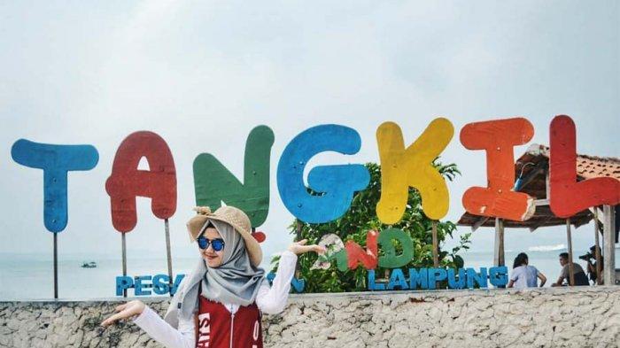 Wisata Lampung - Yuk Liburan Akhir Tahun di Pulau Tangkil, Banyak Permainan Seru