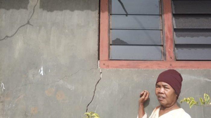 Puluhan Rumah Warga di Natar Retak, Diduga akibat Ledakan Tambang Batu