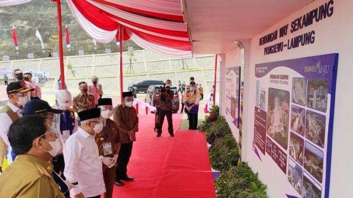 PUPR Target Proyek Nasional Bendungan Way Sekampung Pringsewu Rampung Juli