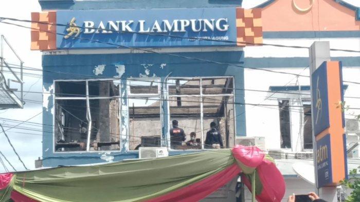 Selidiki Kebakaran Bank Lampung Kota Agung, Labfor Fokus di Lantai 2