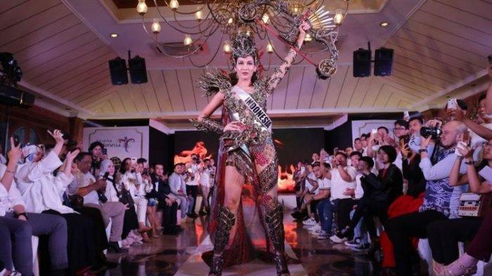 Biodata Frederika Alexis Cull Puteri Indonesia Berdarah Lampung Lolos ke 10 Besar Miss Universe 2019