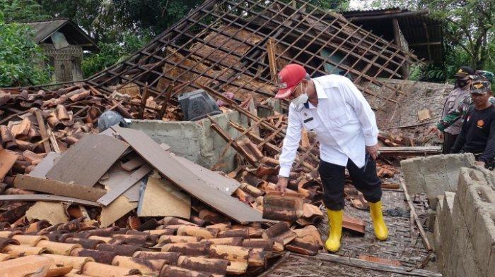 Angin Puting Beliung di Punggur dan Terusan Nunyai, Rumah Warga Rusak