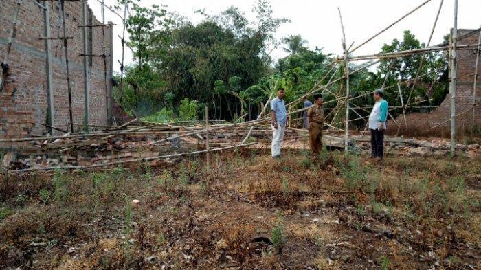 Puting Beliung Landa Kota Gajah, 9 Rumah Warga Rusak