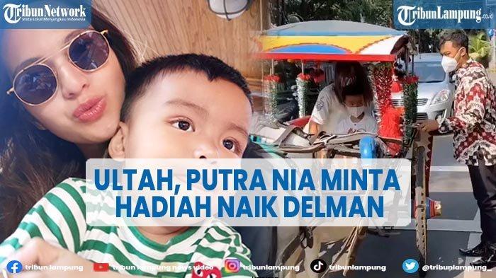 Putra Bungsu Nia Ramadhani Ultah, Minta Hadiah Menginap di Hotel Diantar Delman