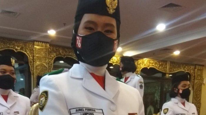 Sosok Aurel Febrina Siswi Lampung Terpilih Paskibraka Nasional, Orangtua Sempat Tak Percaya