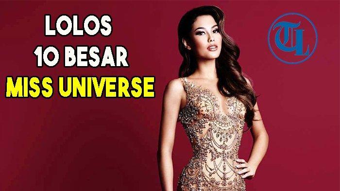 Frederika Alexis Cull, Puteri Indonesia Berdarah Lampung Lolos ke 10 Besar Miss Universe 2019