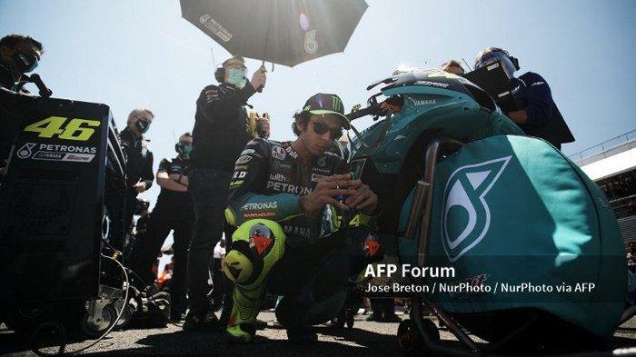 RACE MotoGP 2021 di Prancis, Janji Valentino Rossi Tunjukkan Performa Ciamik