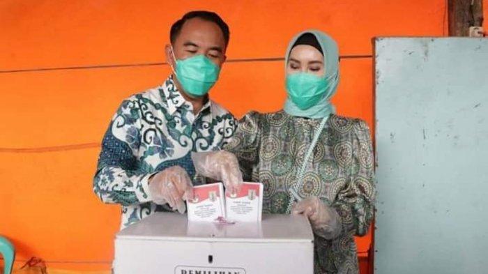 Pesan Raden Adipati Usai Berikan Hak Suara di TPS 03 Kampung Bumi Ratu, Blambangan Umpu