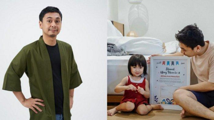 Bukan Mainan atau Jalan-jalan, Raditya Dika Beri Kado Saham di Ulang Tahun Anak