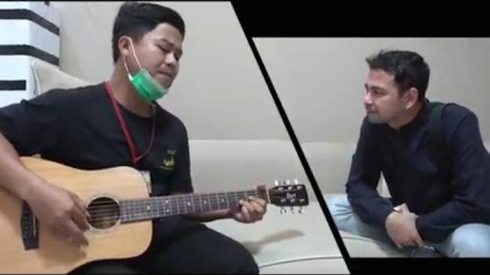 Raffi Ahmad Beli Lagu Pria asal Lampung yang Disangka Gila