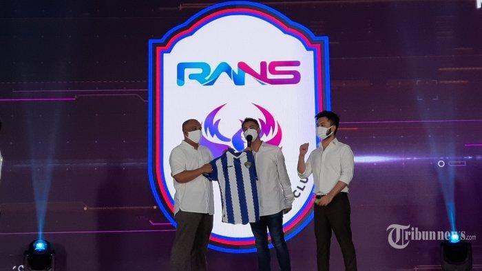 Raffi Ahmad Tunjuk Hamka Hamzah Sebagai Manajer RANS Cilegon FC