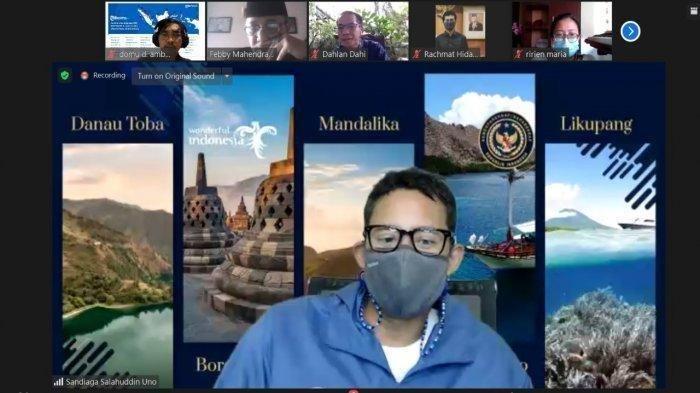 Rakor Dengan Polri, Menparekraf Harapkan Sinergitas Bisa Bangkitkan Pariwisata dan Ekonomi Kreatif