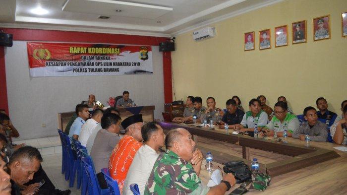 Operasi Lilin Krakatau 2019, Polres Tuba Dirikan Enam Pos Pengamanan