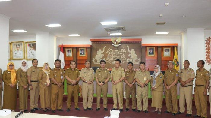 Pj. Sekdaprov Hamartoni Buka Rakor Pengurus Korpri Se-Provinsi Lampung