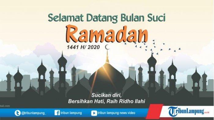 Kumpulan Ucapan Lebaran Di Hari Raya Idul Fitri 1441 Atau 2020 M Tribun Lampung