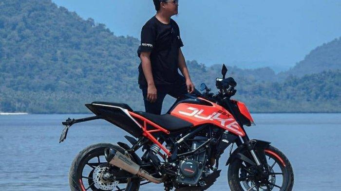 Lewat Forum Otomotif Lampung, Rangga Ingin Bangun Citra Anak Motor Itu Asyik