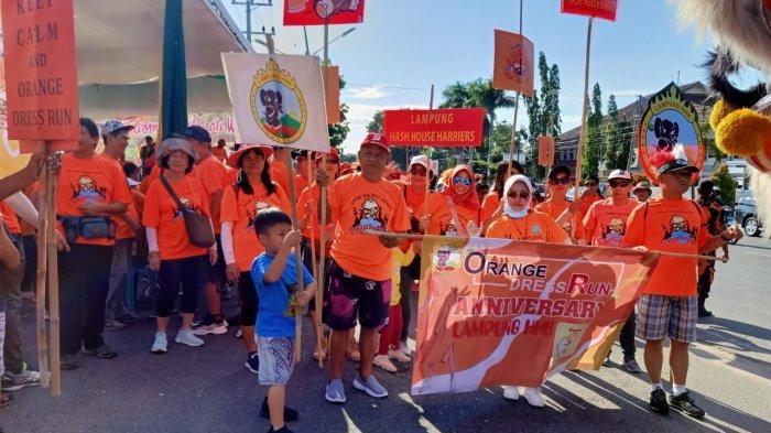 Rangkaian Perayaan Ulang Tahun Ke-17 Komunitas Lampung Hash House Berlangsung Meriah