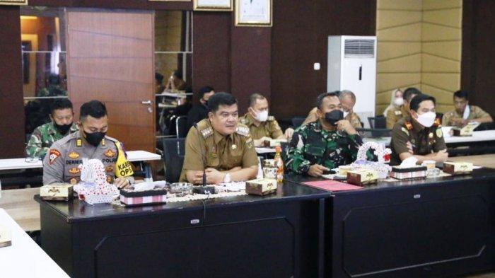 Bupati Lampung Tengah Musa Ahmad Minta Seluruh Stakeholder Dukung Percepatan Vaksinasi Covid-19