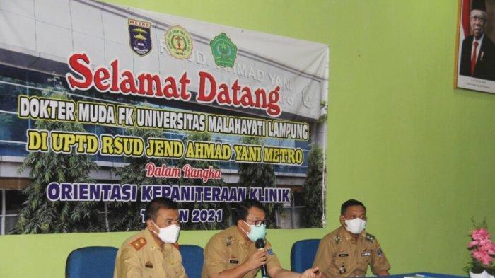 RS Mardi Waluyo Metro Lampung Akan Pasang Tabung Oksigen Kapasitas 5 Ton