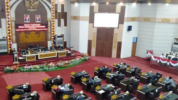 DPRD Pringsewu Soroti Rendahnya Penerimaan Pendapatan