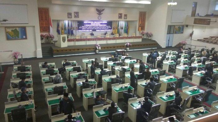 DPRD Lampung Godok Perda Covid-19, Soal Sanksi Pelanggar Protokol Kesehatan, Masih Jadi Pertimbangan