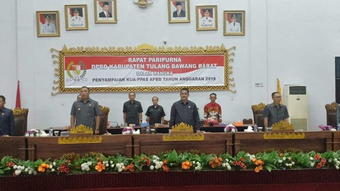 Tiga Pimpinan Definitif DPRD Tubaba Dilantik Selasa Pekan Depan