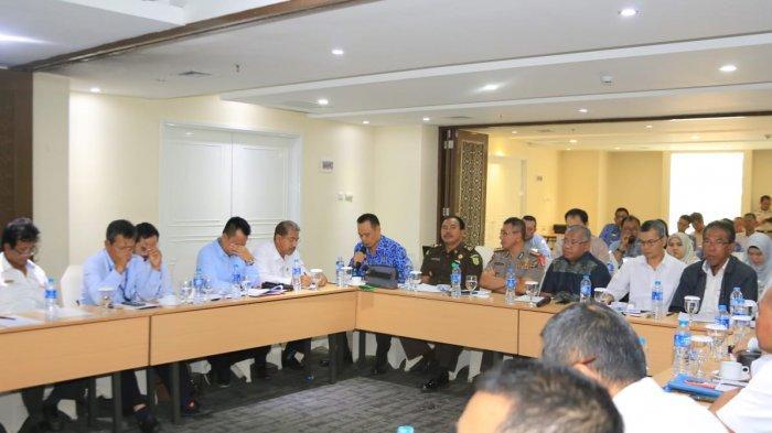 Pemprov  dan Kantor Staf Presiden  Rapat Bahas Kemajuan Jalan Tol Bakauheni - Terbanggi