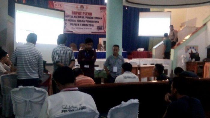 Daftar Caleg DPRD Lampung Raih Suara Terbanyak Hasil Pleno KPU Tanggamus