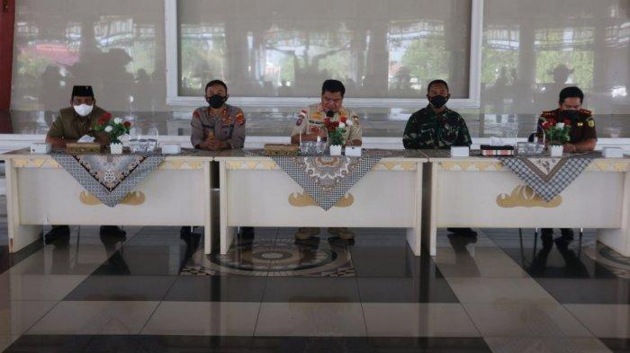BREAKING NEWS Pemkab Lamteng Bentuk 5 Zona Pengawasan Penanganan Covid