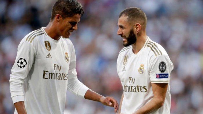 Karim Benzema Kirim Pesan Mengharukan untuk Raphael Varane yang Pindah ke Manchester United