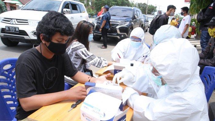 208 Warga Masuki Kota Bandar Lampung Jalani Rapid Test, 2 Dinyatakan Reaktif