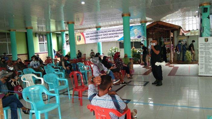 Ratusan CPNS yang Dinyatakan Lolos Datangi RSJ Lampung, Buat Suket Sehat Rohani