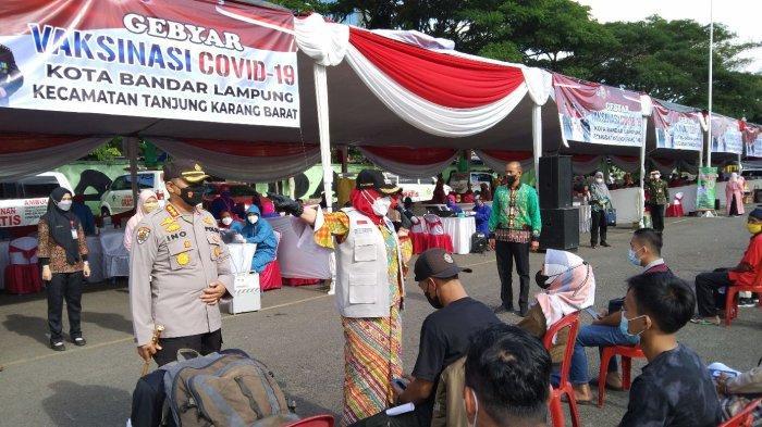 Wali Kota Eva Dwiana Optimis Vaksinasi di Bandar Lampung Tuntas Akhir Tahun