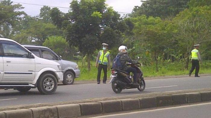 Ada Razia di Bypass SMAN 5 Bandar Lampung