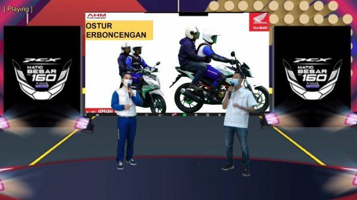 Tunas Honda Lampung Gelar Webinar Safety Riding For Company