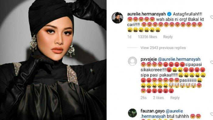 Ilustrasi reaksi Aurel Hermansyah. Reaksi istri Atta Halilintar usai ibu mertuanya jadi bahan candaan di Tiktok