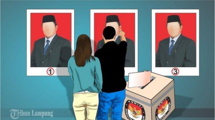 Hasil Sementara Real Count KPU di Lampung, Beberapa Calon Unggul Telak