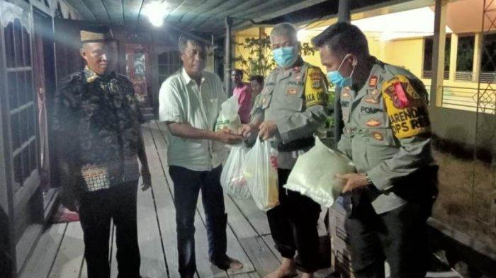 Redam Konflik Susulan di Rawajitu Utara, Polres Mesuji Datangi Keluarga Korban