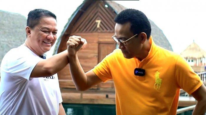 Refly Harun ke Lampung, Bikin Video Gak Ngompol dan Nikmati Sup Ikan King Kobia di Pulau Tegal Mas