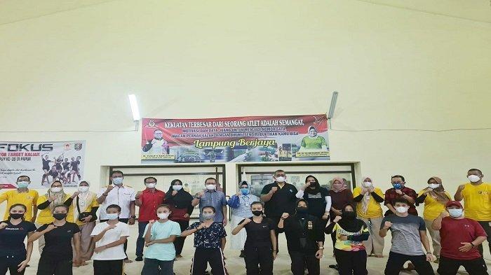 Reihana Gelar Doa Bersama Para Atlet Senam untuk Keberangkatan PON Papua