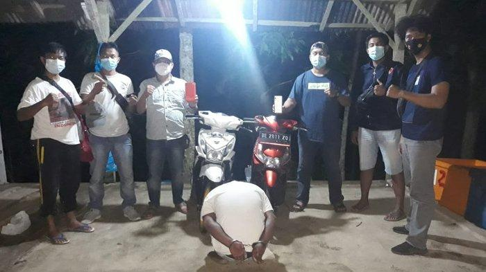 Rekan Pelaku Pencurian Motor di Tanggamus Kini Masuk Daftar Buruan Polisi