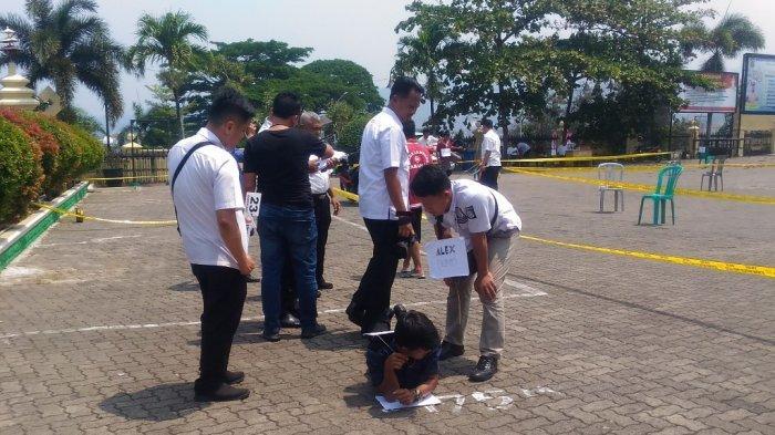 Ada 37 Adegan, Polda Lampung Gelar Rekonstruksi Kerusuhan Register 45 Mesuji