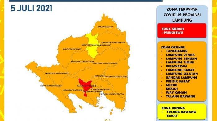 Rekor Lagi, Covid-19 di Lampung Bertambah 306 Kasus Sehari