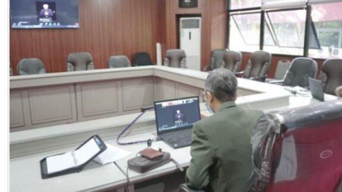 Rektor Unila Prof Karomani Ikuti Webinar Revitalisasi Pancasila pada Masa Pandemi Covid 19