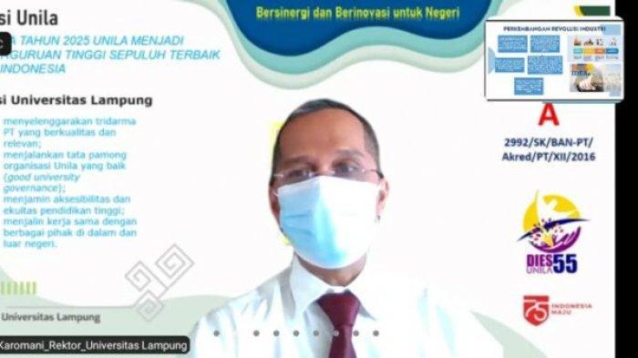 Rektor Universitas Lampung Prof Karomani Jadi Narasumber Lokakarya Prodi Mikom