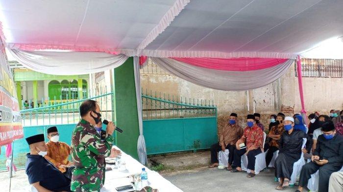 Danramil Mayor Inf Sutoto Beri Materi Ideologi Pancasila dan Wawasan Kebangsaan di Kota Baru