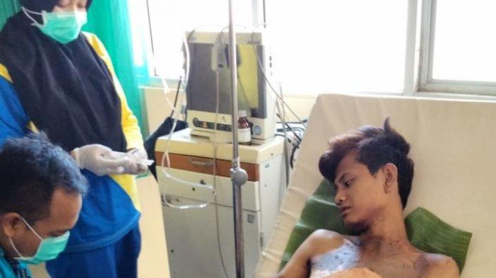 Sempat Tak Ada Biaya, Deo Akhirnya Dibawa ke Rumah Sakit Bumi Ragab Begawe Caram