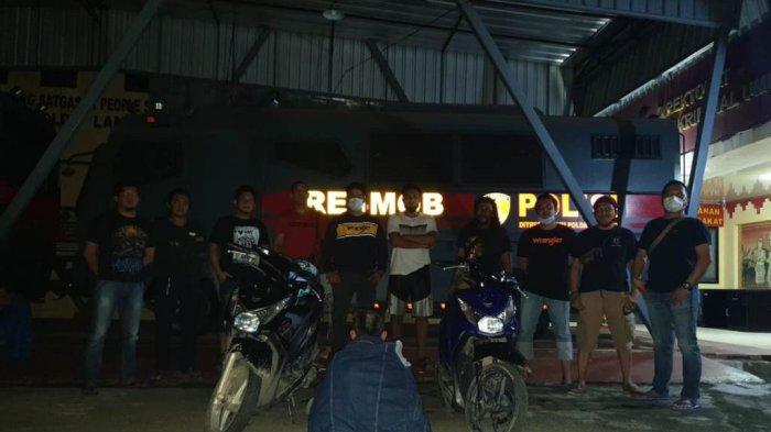 Kelabui Polisi, Remaja 17 Tahun di Bandar Lampung Ini Cat Ulang Motor Curiannya